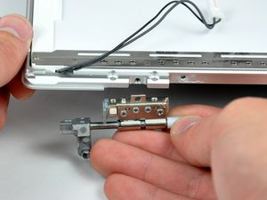 """PowerBook G4 Aluminum 15"""" 1.67 GHz Right Clutch Hinge Replacement"""
