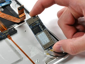 MacBook Air Models A1237 and A1304 AirPort/Bluetooth Board Replacement