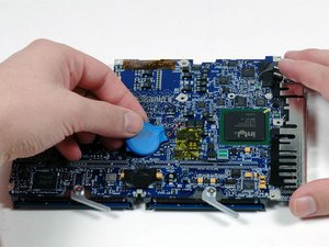 MacBook Core 2 Duo PRAM Battery Replacement