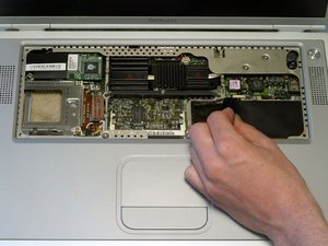 PowerBook G4 Titanium Mercury DVD Drive Replacement