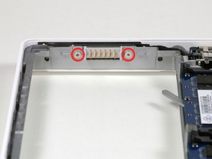 MacBook Core 2 Duo Battery Connector Replacement