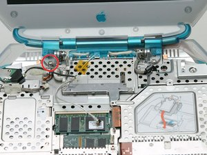 iBook G3 Clamshell Display Replacement