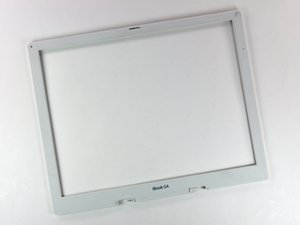"iBook G4 14"" 1.42 GHz Front Display Bezel Replacement"