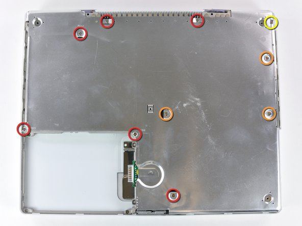 """iBook G4 14"""" 1.42 GHz Bottom Shield Replacement"""