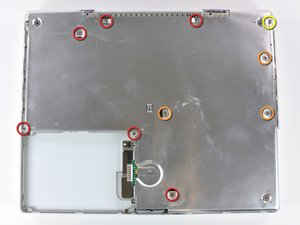 "iBook G4 14"" 1.42 GHz Bottom Shield Replacement"