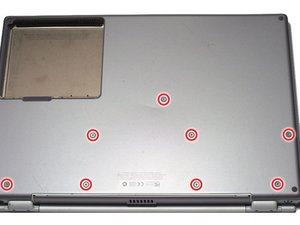 PowerBook G4 Titanium Onyx Lower Case Replacement