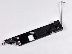 MacBook Unibody Model A1342 Rear Speaker Replacement