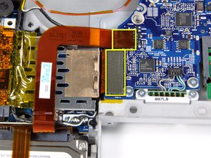"""MacBook Pro 15"""" Core 2 Duo Models A1226 and A1260 ExpressCard Cage Replacement"""