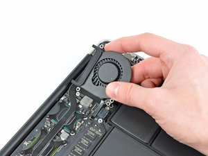 "MacBook Air 11"" Late 2010 Fan Replacement"