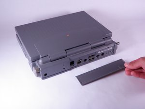 Macintosh PowerBook 165c Input/Output Door Replacement