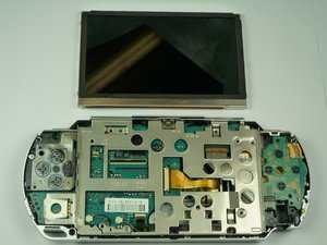 PSP 1000 LCD Screen digitizer Replacement