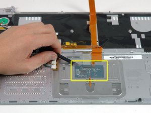 "MacBook Pro 15"" Core 2 Duo Model A1211 Upper Case Cable Replacment"
