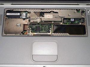 PowerBook G4 Titanium Onyx DVD Drive Replacement