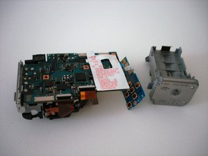 Sony Cyber-shot DSC-W5 battery compartment replacement