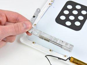 MacBook Core 2 Duo Left Clutch Hinge Replacement