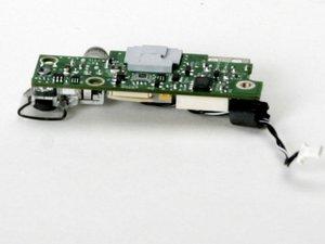 "PowerBook G4 Aluminum 17"" 1-1.67 GHz RJ-11 Board Replacement"