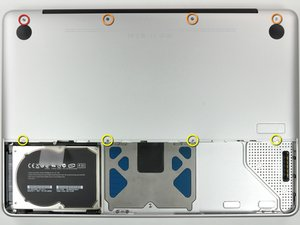 MacBook Unibody Model A1278 Lower Case Replacement