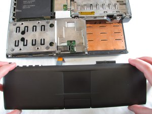 PowerBook 3400 M3553 Track Pad Panel Replacement