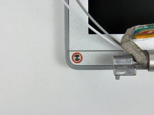 "MacBook Pro 15"" Core Duo Model A1150 Rear Display Bezel Replacement"
