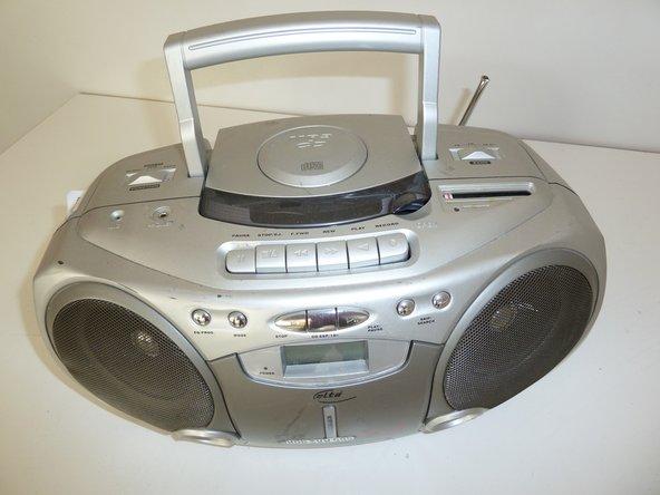 Radio CD Recorder