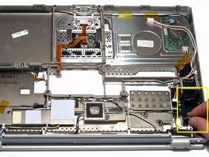 PowerBook G4 Titanium DVI Fan Replacement
