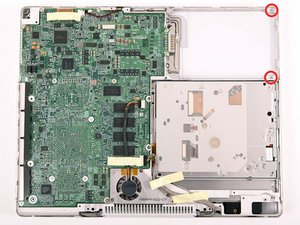 """iBook G4 12"""" 800 MHz-1.2 GHz Upper Case Replacement"""
