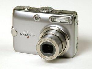 Nikon Coolpix P4 Repair