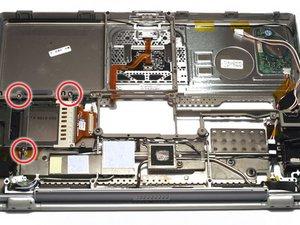 PowerBook G4 Titanium DVI PC Card Cage Replacement