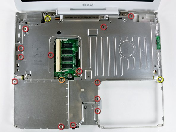 """iBook G4 14"""" 1.42 GHz Top Shield Replacement"""