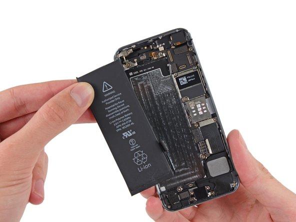 iPhone 5s Akku ersetzen
