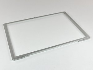 """PowerBook G4 Aluminum 15"""" 1.67 GHz Front Display Bezel Replacement"""
