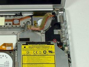 "PowerBook G4 Aluminum 15"" 1.67 GHz Right Speaker Housing Replacement"