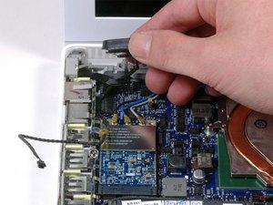 MacBook Core 2 Duo Left Speaker Replacement
