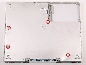 """iBook G4 12"""" 800 MHz-1.2 GHz Bottom Shield Replacement"""