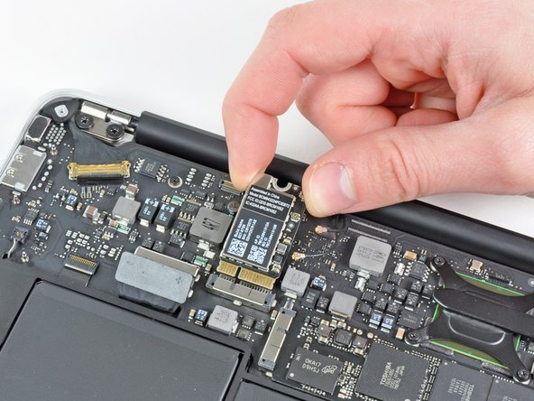 """MacBook Air 11"""" Late 2010 AirPort/Bluetooth Card Replacement"""