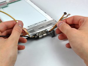 """MacBook Pro 15"""" Core Duo Model A1150 Inverter/Camera Cable Replacement"""
