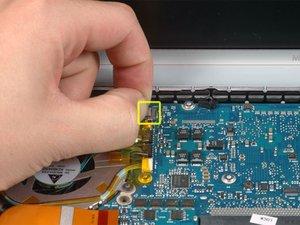 "MacBook Pro 15"" Core 2 Duo Model A1211 Left Fan Replacement"