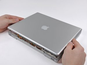 "PowerBook G4 Aluminum 12"" 867 MHz Rear Display Bezel Replacement"