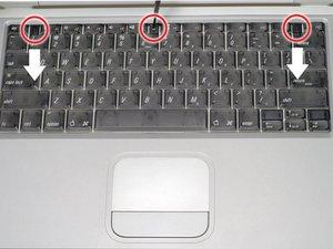 PowerBook G4 Titanium Onyx Keyboard Replacement