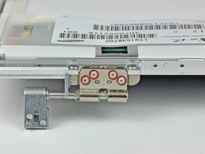 """MacBook Pro 15"""" Core 2 Duo Models A1226 and A1260 Right Clutch Hinge Replacement"""