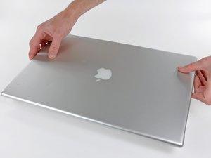 "PowerBook G4 Aluminum 17"" 1-1.67 GHz Rear Display Bezel Replacement"