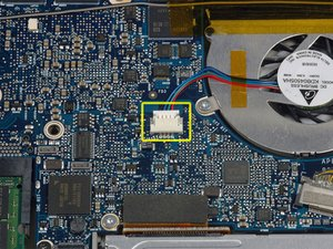 """MacBook Pro 15"""" Core Duo Model A1150 Right Fan Replacement"""