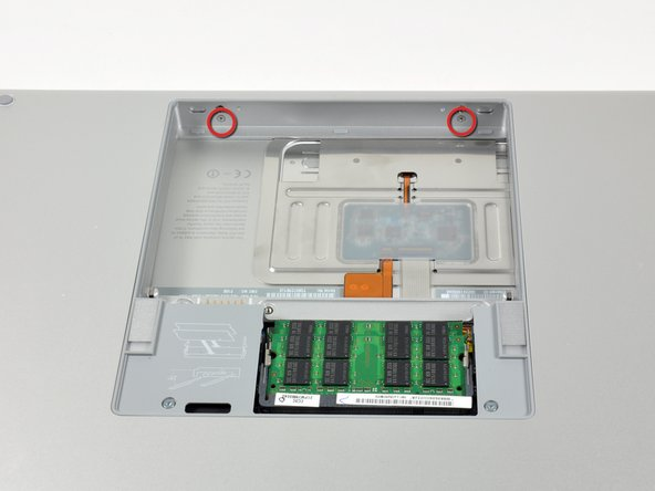 """MacBook Pro 15"""" Core 2 Duo Models A1226 and A1260 Upper Case Replacement"""