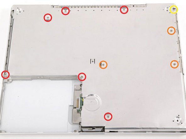 """iBook G4 14"""" 933 MHz-1.33 GHz Bottom Shield Replacement"""