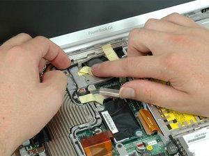 "PowerBook G4 Aluminum 12"" 1-1.5 GHz Heat Sink Replacement"