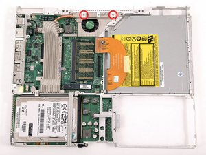 """iBook G4 12"""" 800 MHz-1.2 GHz Hinge Grill Replacement"""