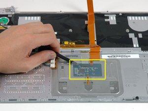 "MacBook Pro 15"" Core 2 Duo Model A1211 Upper Case Replacement"