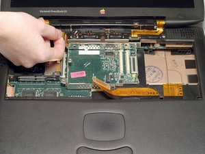 PowerBook G3 Wallstreet Display Replacement