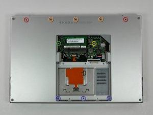 "PowerBook G4 Aluminum 17"" 1.67 GHz (High-Res) Upper Case Replacement"