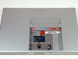 "MacBook Pro 15"" Core 2 Duo Model A1211 RAM Shield Replacement"